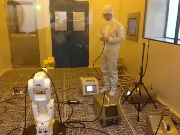 苏州市计量测试研究所《空气化学污染控制检测评定实验室》机器人测试